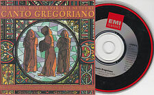 CD CARTONNE CARDSLEEVE COLLECTOR CANTO GREGORIANO ALLELOUIA 2T MADE IN UK 1993