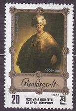 KOREA Pn. 1983 MNH** SC#2265 20ch, Rembrandt Paintings. The Noble Slav.