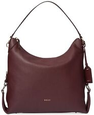 DKNY Chelsea Medium Leather Hobo Handbag