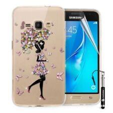 Étuis, housses et coques graphiques Samsung Galaxy J en silicone, caoutchouc, gel pour téléphone mobile et assistant personnel (PDA)