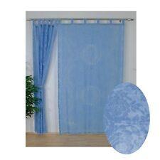 Gardine Seitenschal Schlaufen Vorhang Schlaufenschal 2 x 140 x 240 cm transparen