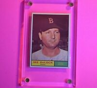 1961 Topps #268  Ike Delock Red Sox  NM NrMt (No creases)