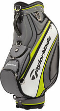 TaylorMade Golf Tour Cart Bag 2017 Gray/White/Green New