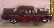 Hot Wheels '64 Chevelle SS matte black street rod 2013 #233