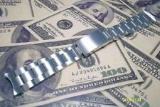 Rolex Men's Stainless Steel Wristwatch Straps