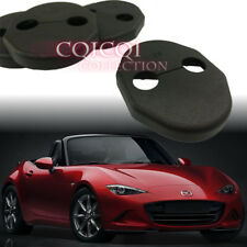 Mazda 15~17 MX5 MX-5 Miata Roadster door lock striker cover 2pcs ND ◎