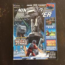 Nintendo Power Magazine # 173 Star Wars REBEL STRIKE TMNT POSTER Pokemon READ