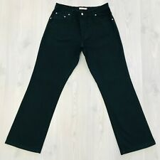 Levi's damen 550 Dunkelgrau Bequemer Bootcut Jeans Größe W30 L34