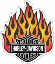 Aufkleber Harley Davidson Flammen 10x8cm Flames Decal Helm Tank Windshield Auto
