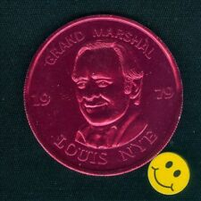 1979 Louis Nye Actor American Comedic Entertainer New Orleans Doubloon Free S/H