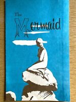 1950s THE MERMAID vintage food menu FLORIDA RESTAURANT Mid-Century Modern Design