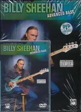 BILLY SHEEHAN - ADVANCED BASS GUITAR BOOK & DVD NEW