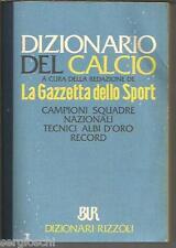 DIZIONARIO DEL CALCIO RIZZOLI 1990-SQUADRE NAZIONALI-DICTIONARY SOCCER-N10