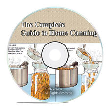 Complete Guide to Home Canning, Cooking Food Preservation, Curing Meat, Jars V50