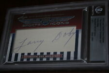 2010 Leaf Prime Cuts SP Sport Icons Larry Doby HOF Auto 1/1