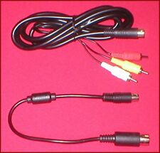 Audio Video AV Cable & 32X Data Link Mixing Cable for Sega Genesis 1 System NEW