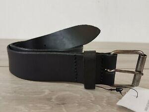 Ladies ASOS Real Leather Hip &  Waist Belt Casual BLACK S/M A113-23