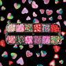 Love Heart Nail Art Sequins 3D Polymer Clay Flakes Slice Nail Decor Manicure DIY