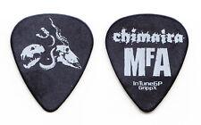 Chimaira Matt DeVries Signature Animal Skull MFA Black Guitar Pick - 2005 Tour