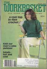 The Workbasket Knit/Crochet and Craft Magazine Aug 1979