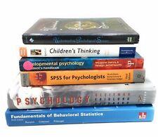Psychology Books -6 Developmental Psychological & Childrens Thinking Uni Bundle