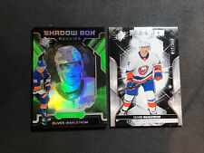 2019-20 UD SPX OLIVER WAHLSTROM ROOKIE SILVER /349 + SHADOW BOX GREEN #S-OW