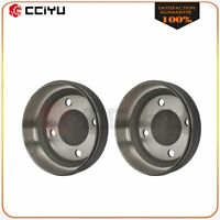 2 Club Car Brake Drum Rear for 1995 & Up Club Car DS and 2004 & Up Precedent gas