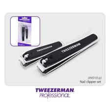 Tweezerman #4015-P Acero Inoxidable Cortauñas Set para uñas de dedo & Toe Nail