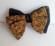 Colonel Ormond Vintage Brown Velvet Bow Tie 5 1/2""