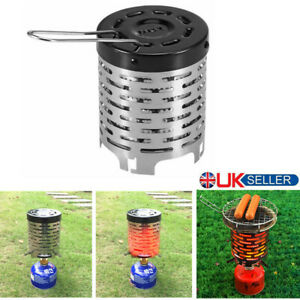 Portable Mini Camping Heater Cover for Gas Stove Tent Warmer Cooker Burner UK