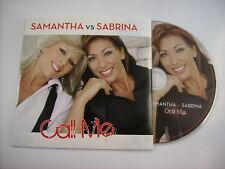 SABRINA / SAMANTHA FOX - CALL ME - CD SINGLE NEW UNPLAYED 2010 CARDSLEEVE