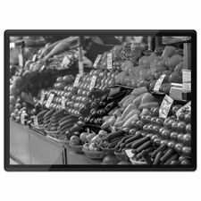 Plastic Placemat A3 BW - Fruit and Vegetables Market  #35617