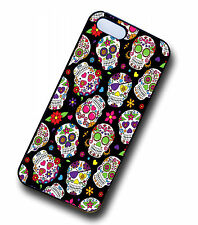 Mexican Day Of The Dead Sugar Skull Hipster Pattern Case Cover for iPhone 5s