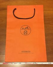 Hermes-Paper-Shopping-Gift-Bag With Rope 17'' by 11'' by 4''