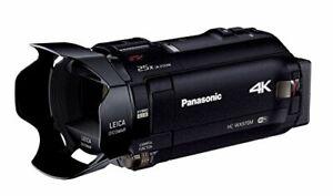 Panasonic 4K Video Camera Wx970M Wipe Take Camcorder 447G Black Hc-Wx970M-K