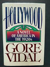 HOLLYWOOD Novel of America in 1920's GORE VIDAL 1990 1ST edition unread fine DJ