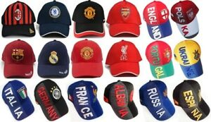 Country Embroidered Baseball Caps International Soccer Hats