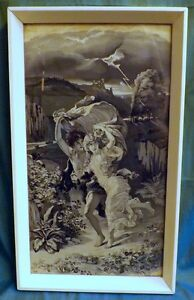 Pierre Auguste Cot 1837-1883, Neyret Freres Silk Tapestry, The Storm, La Tempete