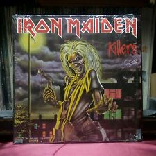 """Used 12"""" LP VG++ Iron Maiden Killers 1981 Capitol Records ST-12141"""
