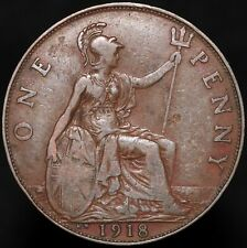 More details for 1918 kn | george v one penny | bronze | coins | km coins
