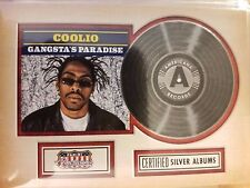 2015 Donruss Americana #3 Coolio Gangsta's Paradise Certified Silver Albums