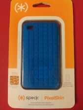 speck PixelSkin for iPod Touch 4th Generation (8-32-64GB) BLUE Comfortable Grip.