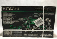 Hitachi 18-Volt 4-Tool Power Combo Kit w/Soft Case 2-Batteries +Charger Included