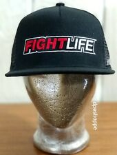 MMA Mixed Martial Arts HYPERFLY DOORDIE FightLife Black Hat Cap Snapback New