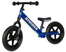 STRIDER 12 Balance Bike Classic Kids No-Pedal Learn To Ride Pre Bike BLUE NEW