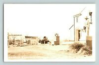 Famous Boot Hill Cemetery Dodge City Kansas Old Real Photo RPPC Postcard Rare