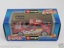 [PF3-6] BBURAGO BURAGO 1/43 STREET FIRE COLLECTION #4111 ALFA ROMEO 156 SELENIA