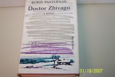 Dr. Zhivago Pasternak, Boris hardcover W/jacket USA 1958 First edition English