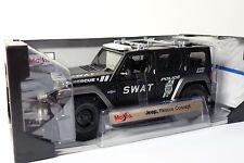 1:18 Maisto Special Edition Jeep Rescue Concept SWAT - Polizei
