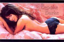 BROOKE BURKE - ON HER TUMMY WITH JUST PANTIES !!!!